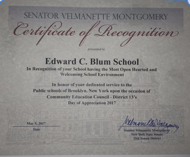 certificate of recognition for winning a contest