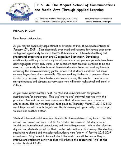 Guzman Letter